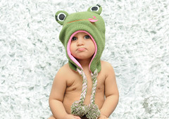 "Baby boy ""S"" (Rawan Mohammad ..) Tags: boy baby green girl kids photography 50mm kid big eyes nikon photos 14 australia before brisbane frog mohammed f saudi arabia after nikkor tamron mohammad 2012 2010 rn   rawan        frogy    d300s rnona"