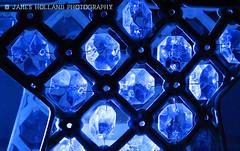 Star Jewels (James Holland Photography) Tags: blue closeup star nikon shiny glow jewels decor