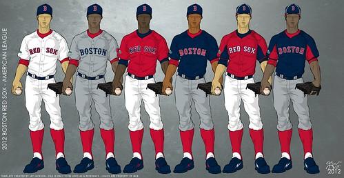 Boston Red Sox 2012 Uniforms - a photo on Flickriver 0e08e0d0bad