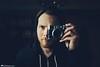 Sup (Rick Nunn) Tags: camera portrait hat self beard mirror fuji hand rick hoody nunn x100