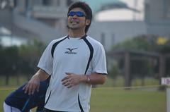 DSC_0082 (mechiko) Tags: 横浜ベイスターズ 120209 新沼慎二 横浜denaベイスターズ 2012春季キャンプ