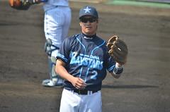 DSC_0789 (mechiko) Tags: 横浜ベイスターズ 120212 渡辺直人 横浜denaベイスターズ 2012春季キャンプ