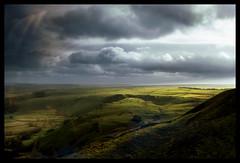 Mam Tor_Winnats Road (Mark A Lacey) Tags: park uk sunlight clouds forest countryside peakdistrict hills fields mamtor winnatsroad