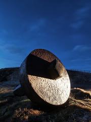 Sculpture (P2058276) (Mel Stephens) Tags: uk winter night geotagged visions coast scotland aberdeenshire olympus nighttime coastal gps 2012 q1 collieston 201202