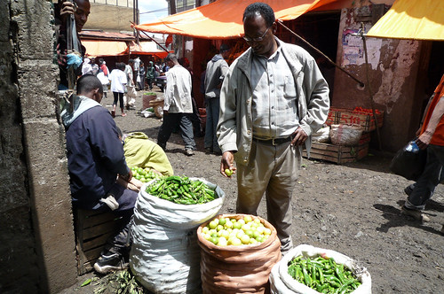 Central market Mercato in Addis Ababa = Marché central Mercato à Addis Abeba