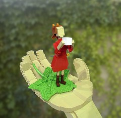 Arrietty the Borrower (Ochre Jelly) Tags: anime lego miyazaki animation ghibli moc afol  miniland  borrowers  arrietty  miyazakitopia  arriety
