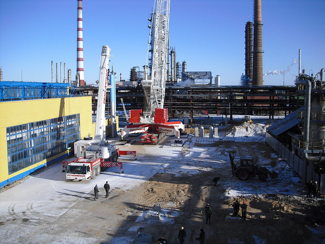 Lifting of reactors in Belarussia