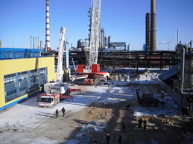Lifting of reactors in Belarussia