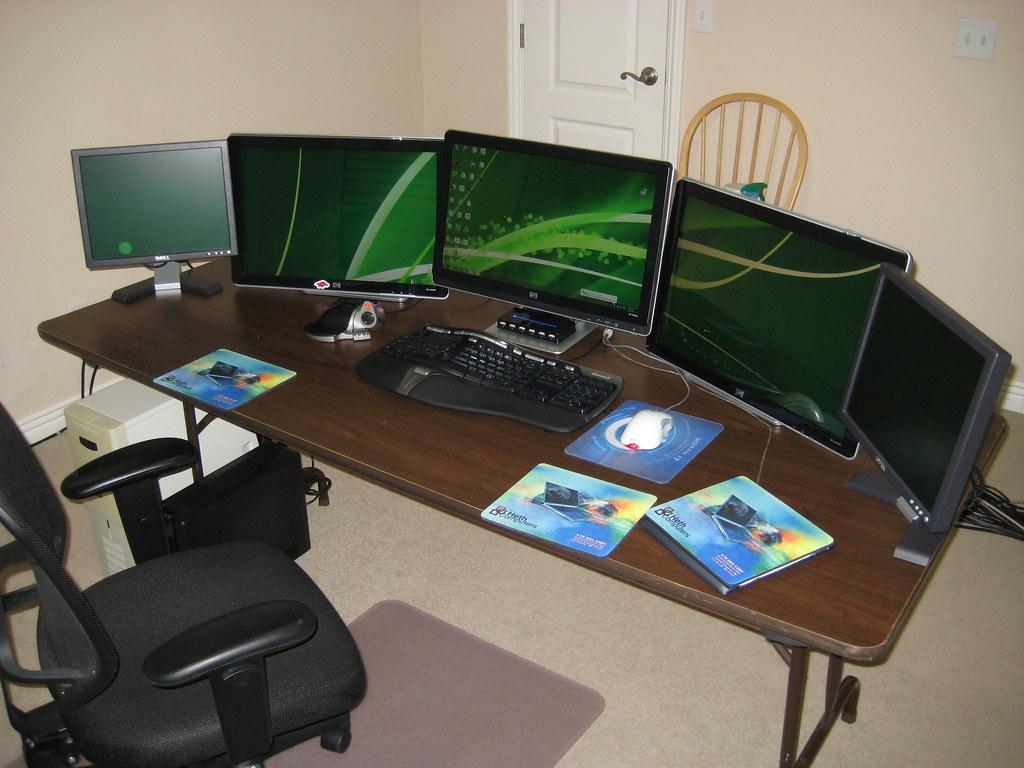 geeks home office workspace. main office desk danielheth tags desktop home work computer technology geek geeks workspace