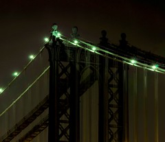 Manhattan Bridge (Surrealplaces) Tags: new york city newyorkcity bridge night manhattanbridge