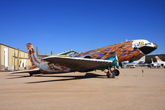C-117  The Boneyard Project at Pima Air & Space Museum (flyingaxel) Tags: art museum tucson aviation pima douglas airandspace c117 theboneyardproject