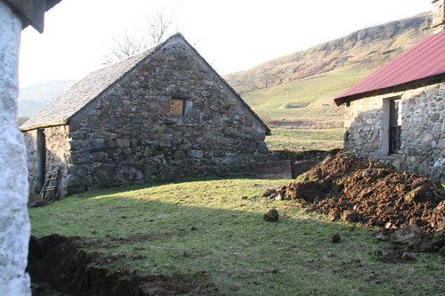 Auchindrain with new land drains