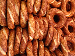 Simit (Tulay Emekli) Tags: food yummy sesame traditional istanbul delicious crispy hungry sesameseeds simit susam takeone gevrek koulouri evrek  covrig    backposted sonydscw530 gjevrek turkishbagels