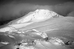 Mt.Biei from Mt.Tokachidake (threepinner) Tags: winter japan diy hokkaido kodak sears north   hq ricoh f28 bei microfilm hokkaidou  selfdeveloped d23  northernjapan kamifurano   mttokachidake imagelink mtbiei  mountainsnaps  xr8super diydeveolpment