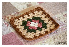 1 Square (Lavores FL) Tags: hand crochet made croch