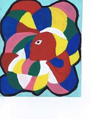 PAP-DAV-21 (moralfibersco) Tags: art latinamerica painting haiti gallery child fineart culture scan collection countries artists caribbean emerging voodoo creole developingcountries developing portauprince internationaldevelopment ayiti