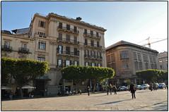 Palermo (gabymann) Tags: alberi platz centro menschen piazza palermo altstadt bume sicilia palazzi huser sizilien