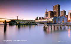 Ferry Building -- Port of San Francisco (davidyuweb) Tags: sanfrancisco california usa building ferry port san francisco