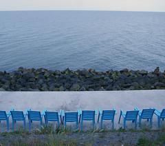 Afsluitdijk (Harry Mijland) Tags: blue holland blauw chairs nederland dearharry harrymijland