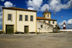 Ponta do Humait (Fonseca) Tags: igreja bahia salvador farol humait pontadohumait