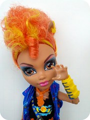 "Howleen ""Rawr"" (Lawdeda ) Tags: camera orange love monster electric high doll 360 x mh mattel droid breakin boogaloo howleen exploredmar14 2012381"