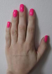 Orly Beach Cruiser (sugarmedic88) Tags: pink summer neon nail nails nailpolish orly 2012 hotpink beachcruiser feelthevibecollection