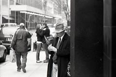 west 22nd street, NYC (triebensee) Tags: auto white black film japan nikon nippon f2 125 kogaku f105cm fujifilmneopan400 nikkorp