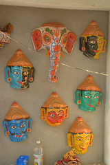 Painted Papier-mache (VinayakH) Tags: india art heritage artwork village traditional orissa artisan traditionalcrafts raghurajpur utkal tassar pattachitra odisha