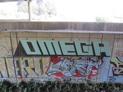OMEGA / SORT (Same $hit Different Day) Tags: graffiti bay san francisco omega area roller sort dwt hysu