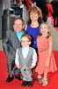 Warwick Davis and family The worldwide Grand Opening event for the Warner Bros. Studio Tour London 'The Making of Harry Potter' held at Leavesden Studios London, England