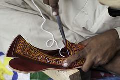 Traditional Crafts from Sindh (Abdul Qadir Memon ( http://abdulqadirmemon.com )) Tags: pakistan heritage shoes hand embroidery sewing traditional culture abdul 2012 mela islamabad lok qadir virsa memon