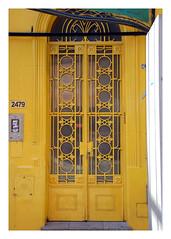 Buenos Aires 1208 0107 (woody lauland) Tags: door argentina argentine metal architecture puerta buenosaires doorway ornate architecturaldetails