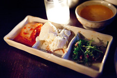 Banchan (thewanderingeater) Tags: nyc dinner manhattan tribeca kori koreancuisine korirestaurant
