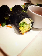 Nori Wrap (Dylan) Tags: dinner vegan healthy natural nori uploaded:by=flickrmobile flickriosapp:filter=nofilter