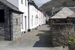 Valency Row (Salopian07) Tags: houses cornwall cobbles boscastle cobbledstreet valenceyrow