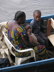 Hitching a Ride Home (icajoleu) Tags: people kids centralafricanrepublic dolilodge