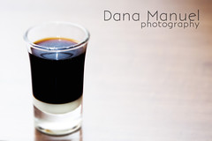cafe bombon (Dana C. Manuel) Tags: glass coffee milk cafe shots espresso shotglass coffeegrinder bombon hario