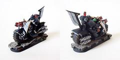 Ravenwing (Bronzetooth) Tags: bike dark 40k angels warhammer squad ravenwing