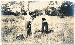 Photograph: Some Camera Men Fellows (mrwaterslide) Tags: old cinema vintage movie silent antique oldphoto vernacular director cinematographer cameraman bullhorn