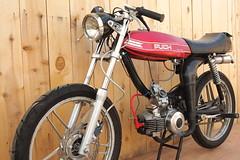 Puch Magnum (GotSpark) Tags: reed 28mm dio custom moped magnum mopedarmy puch mikuni 5stars 2stroke ngk ebr polini za50