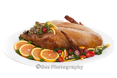 Roast Duck (Stevemc2011) Tags: thanksgiving christmas xmas food orange brown holiday chicken cooking vegetables feast dinner festive cuisine restaurant duck stuffed healthy traditional plate vegetable goose meat roast gourmet delicious whitebackground homemade poultry meal peppers organic tradition cooked parsley platter isolated baked garnish roasted garnished