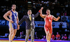 2014 World Cup Mongolia vs Russia (jrsachs) Tags: freestyle wrestling freestylewrestling worldcup fila techfallcom