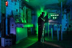 Alienated Control Room (auroramovement) Tags: circle rotation disc glpu lpwa kreisscheibe berlin lightpainting langzeitbelichtung bulb lightdraw oneexposure longexpo lichtkunstfotografie lichtperformance lapp lightart lightartphotography lightgraff lichtkunst lichtmalerei lichtspiel