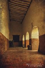Kikil 7779 ch (Emilio Segura Lpez) Tags: mxico yucatn convento corredor arcada kikil