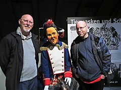 2016-040916M (bubbahop) Tags: family carnival friends museum germany goatee head gray shaved bald jacket 2016 swabian baddrrheim baddurrheim bubbahop narrenschopf europetrip33