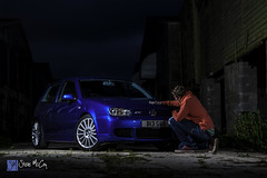 VW Golf R32 (Steve McCoy Photography) Tags: blue vw golf volkswagen 33 retro v6 r32 fastcar hem golfr32 hothatch deeppearlblue