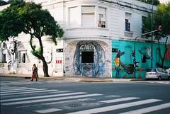 (Kevin Orbitz) Tags: city people streetart film argentina analog 35mm photography graffiti buenosaires nikon kodak ishootfilm 35mmfilm analogue analogphotography 35mmphotography kodakfilm nikonfe2 filmphotography filmroll filmburn filmisnotdead analoguephotography westillshootfilm