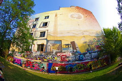 Berlin 2015 - 110 Rahel-Varnhagen-Promenade, Tommy-Weisbecker-Haus (paspog) Tags: berlin germany deutschland tag murals allemagne graffitis fresque 2015 fresques tommyweisbeckerhaus rahelvarnhagenpromenade