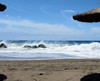 005 | La Tejita beach (Mark & Naomi Iliff) Tags: sea españa beach spain surf waves playa espana tenerife naturist latejita spume