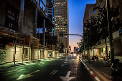 Evening (Amir Zlotnik) Tags: world road street new city trip blue light sunset red summer vacation sky urban orange sun house color building bus green art colors beautiful car architecture night skyscraper canon wow wonderful landscape photography lights evening israel photo telaviv spring colorful cityscape outdoor unique empty transportation hdr flicker 2016